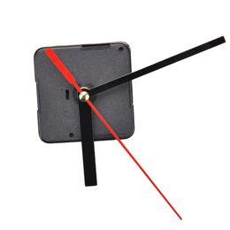 Wholesale Clocks Hand Parts - Quartz Clock Movement Mechanism DIY Repair Parts Black + Hands