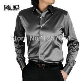 Men Black Shiny Shirt Reviews | Kyrie Shirt Buying Guides on m ...