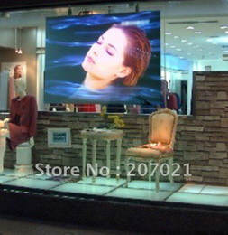 Wholesale Holographic Film For Projection - Wholesale-Freeshipping!!! Clear transparent rear projection film,holographic screen for Display window ,the best quality in China