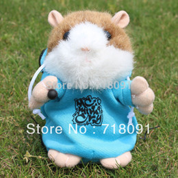 Wholesale Dj Hamster - Wholesale-DJ Style Talking Toy Hamster,Electronic Pet Animal,15CM,1PC