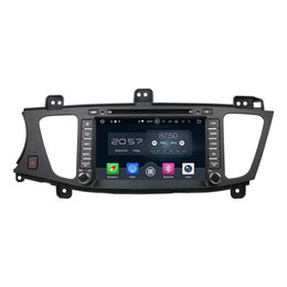 Wholesale Kia K7 - 8'' Android 6.0 Car DVD Radio Stereo Multimedia GPS Player For Kia K7   Cadenza 2009-2012 With 2016 Map Rearview Camera