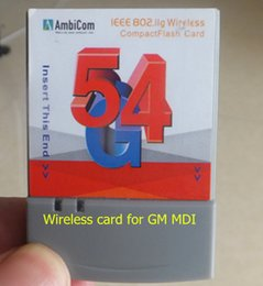 Wholesale Opel Gm Mdi - Good quality 54GB wireless Card For GM MDI CF card cheaping sell WIRELESS CARD