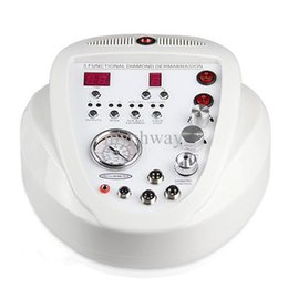 Wholesale Microdermabrasion Machine Prices - 5 In 1 Diamond Microdermabrasion Vacuum Spray Microdermabrasion Machine Scar Removal Skin Care Acne With Best Price