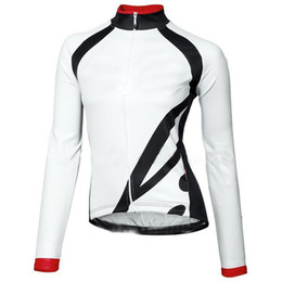 Wholesale Road Bike New - Wholesale-2015 new breathable women long sleeve kits cycling jersey road bike pro cycling clothing can be mix size Bib can choose white.