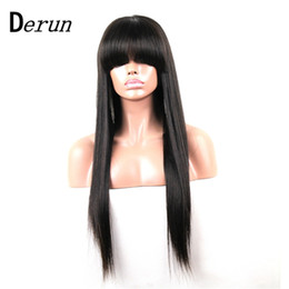 Wholesale French Human Body - 8A Grade Full Lace Wigs Brazilian Remy Hair Body Wave Human Hair Glueless 130% Density Lace Wigs Hand Tied Wigs with closure