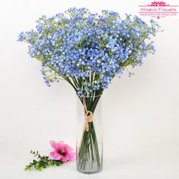 Wholesale Green House Sales - Hot Sale High quality Artificial Gypsophila paniculata Flowers 3 color For Decorate Wedding Party Bedroom Living House