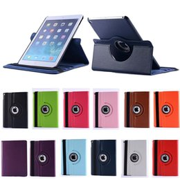 Wholesale Wholesale Tablet Sale China - For iPad 2 3 4 6 PU Leather Cover Case 360 Degree Rotating Stand For iPad mini 1 2 Air 2 Tablet Cases Factory Sale