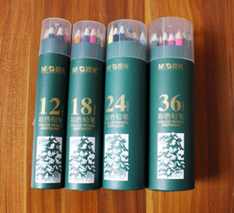 Wholesale Forest Coloring - New Arrival Secret Garden coloring pencils Enchanted Forest Painting pens Colored pencils Creative Writing tools 12 18 24 36 colors