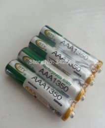 Wholesale Bty Rechargeable Battery Charger - NEW 12pcs AAA 1350mAh BTY Ni-MH Rechargeable Batteries for camera toys Free shipping batterie 14.4v battery charger blackberry curve
