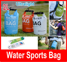 Wholesale Dry Bag 2l - 2L Outdoor Light weight Rafting Bag Waterproof Ultra Small Volume Dry Storage Bag Folding Dry Bag
