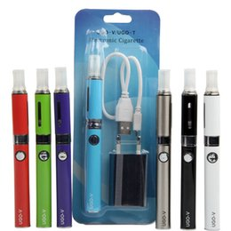 Wholesale Green Wall Charger - eVod Passthrough MT3 Blister Starter Kits Various Colors UGO V MT3 Kit evod pass through battery & Micro USB Wall Chargers and MT3 Atomizer