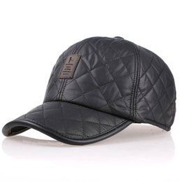 Wholesale Ear Protector Cold - Wholesale-Baseball caps for men 2015 new snapback cap woolen autumn and winter warm hat cold hats ear protector