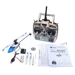 Wholesale 6ch Rc Helicopters Sale - Hot sale V977 Power Star X1 6CH 2.4G Brushless remote control toy rc helicopter model