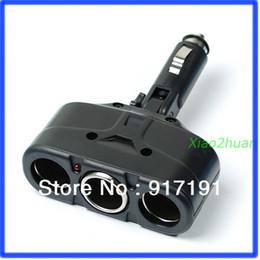 Wholesale Car Cigarette Socket Splitter - Free Shipping Car Cigarette Socket Splitter Adapter Charger 3 Way 12V order<$18no track