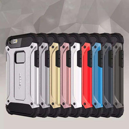 Wholesale Heavy Duty Mobile - New Arrival Slim Armor Hybrid Heavy Duty Hard Plastic + TPU Case Cover for Iphone 6 6S Plus 4.7 5.5 Mobile Phone Cases