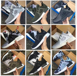 Wholesale Cities Pvc - 2017 NMD Runner 3 III XR1 Camo x City Sock PK Navy NMD_XR1 Primeknit Running Shoes For Men Women Fashion Casual Shoes Trainers