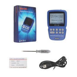 Wholesale New Vpc - NEW VPC100 Hand-Held Vehicle VPC-100 Pin Code Calculator For Almost All Cars With 500 Token Update Online Pin Code Calculator