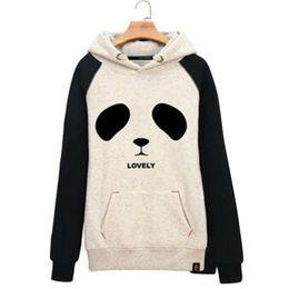 Canada Raisevern nouveau coton 3D épais hoodies harajuku dessin animé tête de panda animal imprimer femmes costume de sport sweat automne / hiver vêtements FG1510 cheap head sports clothing Offre