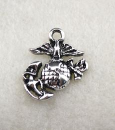 grânulos de cogumelo Desconto USMC Águia Globo e Âncora Pingente 50 pcs muito moda barato EGA charme com o acessório de jóias de águia