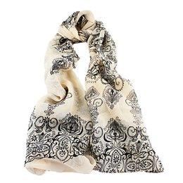 Wholesale Long Scarves For Women - Fashion Multicolor Long Chiffon Floral Scarves Wraps For Women