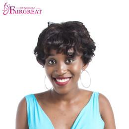 Wholesale Remy Bob Wig - Human Hair Bob Wigs For Black Women Short Human Hair Wigs Brazilian Remy Hair Full End
