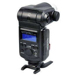 Wholesale Godox Pentax - Godox WITSTRO AD180 Speedlite Powerful 180W External Flash Light for Canon Nikon Pentax Olympas DSLR Cameras