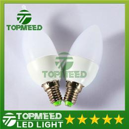 Wholesale E14 5w Led Bulb Light - Cheapest !!! Epacket E14 5W LED Candle bulb E27 Led light lamp high power led downlight lamps chandelier lighting 85-265V CE ROHS FCC 20