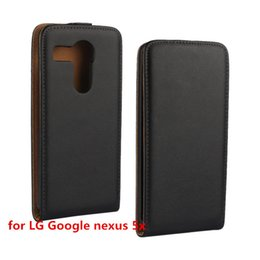 Wholesale Pull Magnets - Newest Arrival Magnet Pull Plain Grain Vertical Flip Leather Up and Down Cover Case for Huawei Ascend Y560   Y 560 For LG Google Nexus 5X