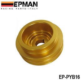 Wholesale b16 civic - Tansky - Crank Underdrive Engine Pulley For HONDA CIVIC 92-00 B16 Z0132 B16A B18C LIGHT WEIGHT EP-PYB16