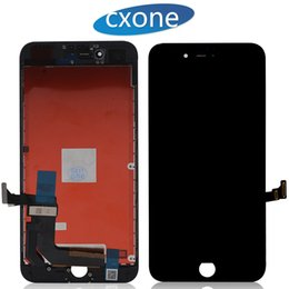 Wholesale Iphone Screen Test - Brand New Grade AAAA Tested LCD Touch Screen For iPhone 7 7G plus LCD Digitizer Display Replacement 4.7inch & 5.5inch