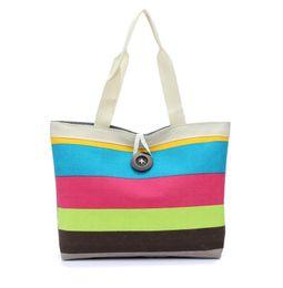 Wholesale Ladies Canvas Shoulder Bag Sale - Big Button British Plaid Handbags Hot Sale Women Wave Canvas Shopping Bag Ladies Party Purse Clutches Furly Candy Shoulder Bags 6 Colors