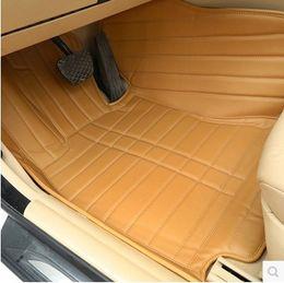 Wholesale Rear Floor Mats - For KIA Sportage QL 4th 2016 2017 Car Floor Mats Custom Front Rear Mat Rugs Leather Protector Interior Auto Rug Accessories