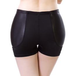 Wholesale Padded Hip Panties - fake hip pads womens knickers padded underwear hip padding enhancer abundant ass butt shaper underpants M,L,XL,2XL,3XL panties