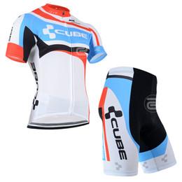 Wholesale Complete Bikes Mtb - Wholesale-Factory Direct! 2015CUBE Team Complete cycling jerseys set! MTB Bike Sport jersey+Pants kit
