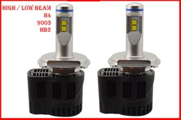 P6 führte scheinwerfer online-1 Satz H4 9003 HB2 110 W 10400LM P6 LED-Scheinwerfer 12/24 V LUMILED MZ 4SMD CHIP 3000 K 4300K 5000 K 6000 K CANBUS Fehlerfrei 55 W 5200LM Kit LED Bul