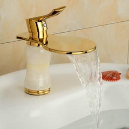 Wholesale Ceramic Art Basin - Newly Art Contemporary Bathroom Faucet Basin Faucet Brass Mixer Tap Waterfall Faucet GM1010