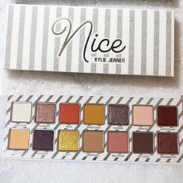 Wholesale Christmas Eyeshadow - NEW!Kylie Cosmetics Naughty or Nice Eyeshadow Palette for Christmas gift Choose Your Palette fast Kylie matte eye shadow DHL shipping