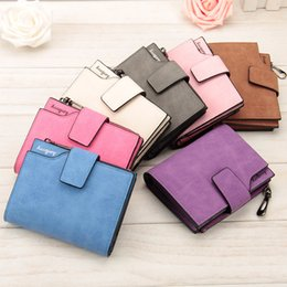 Wholesale Purple Wallet Small - Free Shipping Wallet Women Vintage Fashion Top Quality Small Wallet Leather Purse Female Money Bag Small Zipper Coin Pocket