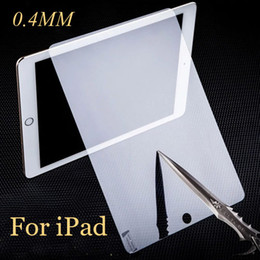 Wholesale Ipad Piece - Tempered Glass 0.3MM Screen Protector for Ipad Pro 2017 2 3 4 Air Air 2 Mini Mini 2 Mini 3 Mini 4 SSC014