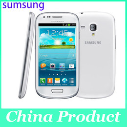 Wholesale S3 Front - Oridinal 4.0'' Samsung Galaxy S3 mini i8190 Refurbished 480 x 800 GSM 3G Dual-core mobile phone WIFI GPS 8GB Smartphone 002868