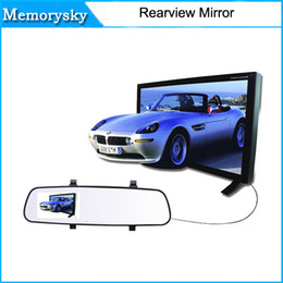 Wholesale Wholesale Monitors Out - 2016 New 2.7 Inch Nice Rear-view Mirror Car Dvr Direct Selling Super Night Vision Recorder HD Wide-Angle On-Board Monitoring 10228
