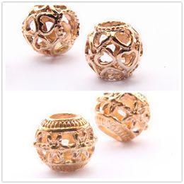 Wholesale Pandora Cross Charm New - Wholesale New European Trend Round Alloy Beads Charm for Pandora Style Compatible Crystal Rhinestone DIY Jewelry