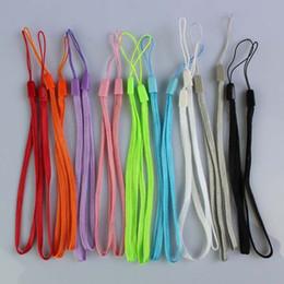 Wholesale Mobile Phone Cord Strap - wrist hand cell phone mobile chain straps keychain Charm Cords DIY Hang Rope Lariat Lanyard