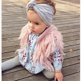 Wholesale Boy Candy - Ins Hot Sell Babies Children Tassels Cardigans Knitting Vests Candy Color Casual Sweaters Cute Boys & Girls Stylish Jackets outwears