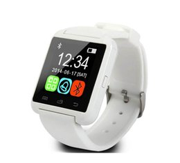 Bluetooth смарт наручные часы U8 часы нет высотомер Smartwatch наручные часы для iPhone Samsung HTC Sony сотовые телефоны Оптовая бесплатная доставка DHL от