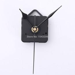 Wholesale Hands Quartz Clock Movement Kit - Black Hand DIY Quartz Clock Spindle Silent Movement Mechanism Repair Tool Kit order<$18no track