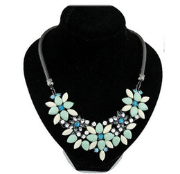 Wholesale Fresh Sweater - Fresh flowers are much exaggerated and jadoku precious retro sweater chain