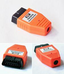 Wholesale Obd Skoda - Free Shipping Keymaker OBD for 4D Chip key programmer Toyota Smart Keymaker OBD for 4D chip