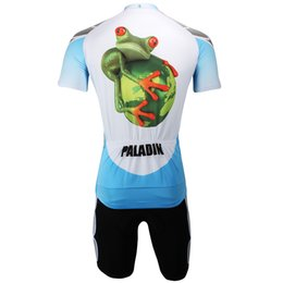 Wholesale Animal Bike Jersey - Wholesale-2015 3D Animal Bike cycling jersey men's Short riding clothes suit toad Cycling Sets Lizard set S-3XL