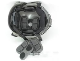 schwarzer taktischer helm Rabatt Großhandels-radfahrenhelm schneller taktischer ballistischer Sturzhelm für Paintball-Schwarzes (BK) M / L, L / XL geben Verschiffen frei